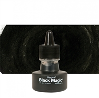INK HIGGINS WATERPROOF PIGMENTED BLACK MAGIC 1oz 44011