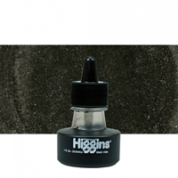 INK HIGGINS WATERPROOF PIGMENTED BLACK INDIA INK 1OZ 44201