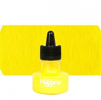INK HIGGINS WATERPROOF PIGMENTED LEMON YELLOW 1oz 44625