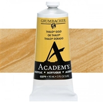 GRUMBACHER ACRYLIC THALO GOLD 90ML C079