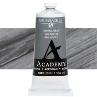 GRUMBACHER ACRYLIC NEUTRAL GRAY 90ML C082