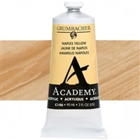 GRUMBACHER ACRYLIC NAPLES YELLOW 90ML C146