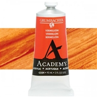 GRUMBACHER ACRYLIC VERMILLION 90ML C224