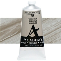 GRUMBACHER ACRYLIC WARM GRAY 90ML C091
