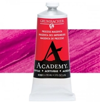 GRUMBACHER ACRYLIC PROCESS MAGENTA 90ML C251