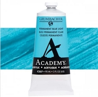 GRUMBACHER ACRYLIC PERMANENT BLUE LIGHT 90ML C257