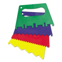PAINT SCRAPER PLASITC AST DESIGN AND CLR 4CT AC5185