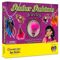 FEATHER FASHIONS JEWELRY 1272