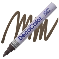 PAINT MARKER DECO BROAD DARK BROWN UC300S-18