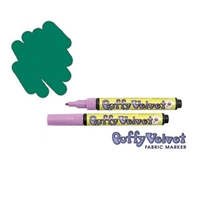 FABRIC MARKER PUFFY GREEN 1022-S 102200400