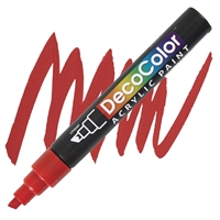 MARKER DECO ACRYLIC 2 RED UC315S-2