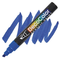 MARKER DECO ACRYLIC 3 BLUE UC315S-3