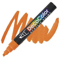 MARKER DECO ACRYLIC 7 ORANGE UC315S-7
