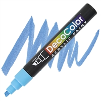 MARKER DECO ACRYLIC 10 LT BLUE UC315S-10