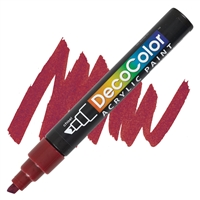 MARKER DECO ACRYLIC 28 ENGLISH RED UC315S-28