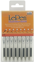 LEPEN DRAWING 8PC SET 4100-8A - 410008A