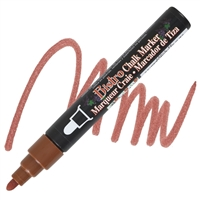 MARKER CHALK BISTRO 6MM BROWN UC480S-6