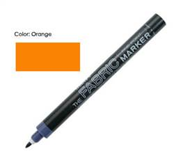 FABRIC MARKER FINE ORANGE 522-S 520704