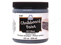 CHALKBOARD PAINT BLACK 8 OZ 2517