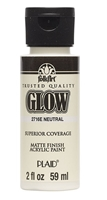 GLOW IN THE DARK NEUTRAL 2 OZ FOLK/ART 2716