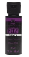 FLUORESCENT NEON PAINT 2 OZ PURPLE FOLKART 2720