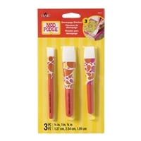 BRUSH SET MOD PODGE - DECOUPAGE SET 3PC FLATS 10615