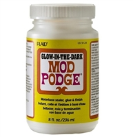 MOD PODGE GLOW IN THE DARK 8oz. CS15128