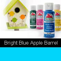 APPLE BARREL BRIGHT BLUE 2OZ 20225
