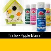 APPLE BARREL YELLOW 2OZ 20502