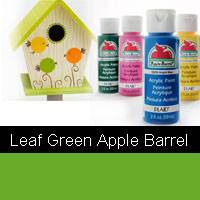 APPLE BARREL LEAF GREEN 2OZ 20528