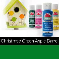APPLE BARREL CHRISTMAS GREEN 2OZ 20529