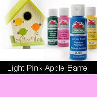 APPLE BARREL LIGHT PINK 2OZ 20535