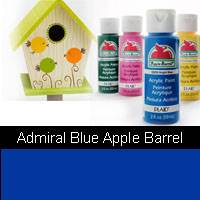 APPLE BARREL ADMIRAL BLUE 2OZ 21484