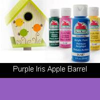APPLE BARREL PURPLE IRIS 2OZ 21486