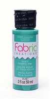 FABRIC PAINT CREATIONS TURQUOISE 2 OZ 25990