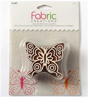 BLOCK PRINTING STAMPS DOODLE BUTTERFLY 27217