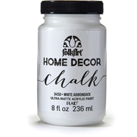 CHALK PAINT FOLKART WHITE 8 ONZ 34150