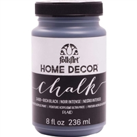 CHALK PAINT FOLKART RICH BLACK 8 ONZ 34169