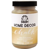 CHALK PAINT FOLKART METALLIC GOLD 8 ONZ 34804
