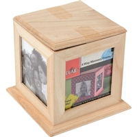 WOOD SURFACES - 4 WAY MEMORY FRAME 5.75x5.75x5.5 INCHES 97870E