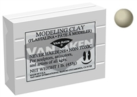 MODELING CLAY LIGHT GRAY VAN AKEN PROFESSIONAL VA10112