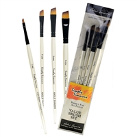 BRUSH SET SS ALL THE ANGLES SET 4 RS255400006