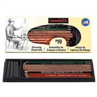 DRAWING KIT GENERAL PENCIL 12 PC SET No. 10 GP10