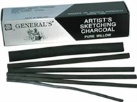 CHARCOAL THIN WILLOW 25-BX GP57-TH