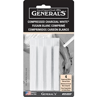 CHARCOAL COMPRS CHAR 4-STX WHITE GP958-BP