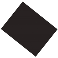 POSTER BOARD HEAVY COATED 22X28 BLACK  PP5323-1