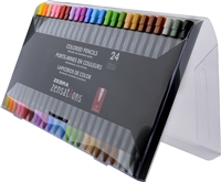 ZENSATIONS COLORED MECHANICAL PENCIL 24PC SET ZE08124