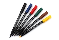 BRUSH TIP MARKER SET 6PC KOI  SKXBR-6CSA