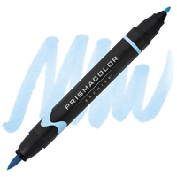 PRISMACOLOR BRUSH TIP DUAL END MARKER - DECO BLUE PB134 SA1773196