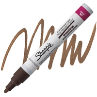 PAINT MARKER SHARPIE BROWN M SA35553